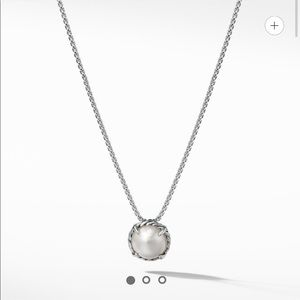 David Yurman Châtelaine® Pendant Necklace Pearl